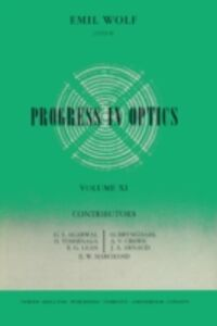 Ebook in inglese Progress in Optics Volume 11