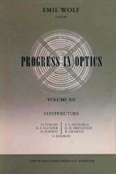 Progress in Optics Volume 12