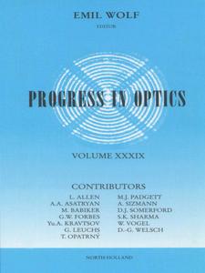 Ebook in inglese Progress in Optics Volume 39 -, -