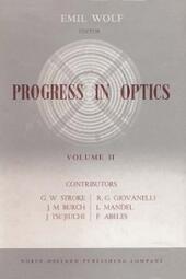 Progress in Optics Volume 2