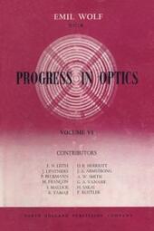 Progress in Optics Volume 6