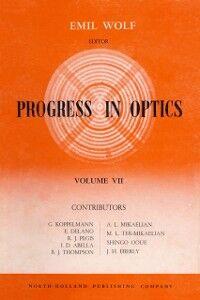 Ebook in inglese Progress in Optics Volume 7
