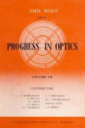 Progress in Optics Volume 7