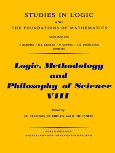 Ebook in inglese Logic, Methodology and Philosophy of Science VIII