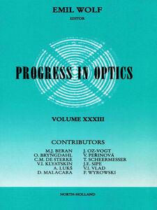 Ebook in inglese Progress in Optics Volume 33