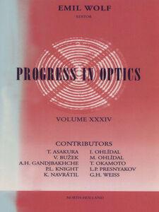 Ebook in inglese Progress in Optics Volume 34 -, -