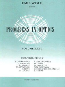 Ebook in inglese Progress in Optics Volume 35 -, -