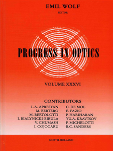 Ebook in inglese Progress in Optics Volume 36 -, -