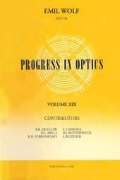 Progress in Optics Volume 19
