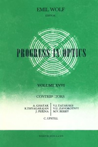 Ebook in inglese Progress in Optics Volume 18 -, -