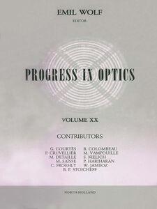 Foto Cover di Progress in Optics Volume 20, Ebook inglese di  edito da Elsevier Science