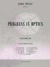 Progress in Optics Volume 20
