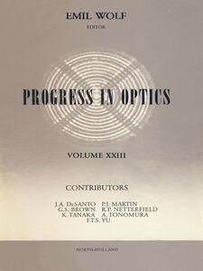 Ebook in inglese Progress in Optics Volume 23 -, -