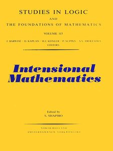 Ebook in inglese Intensional Mathematics -, -