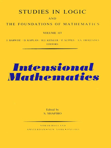Ebook in inglese Intensional Mathematics -, -