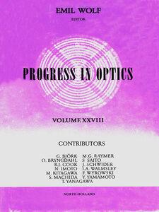 Foto Cover di Progress in Optics Volume 28, Ebook inglese di  edito da Elsevier Science