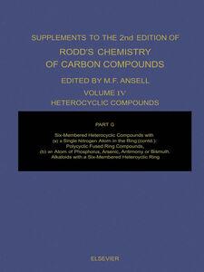 Foto Cover di Heterocyclic Compounds, Ebook inglese di Martin F. Ansell, edito da Elsevier Science