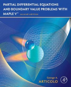 Ebook in inglese Partial Differential Equations & Boundary Value Problems with Maple Articolo, George A.