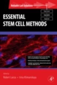 Foto Cover di Essential Stem Cell Methods, Ebook inglese di  edito da Elsevier Science