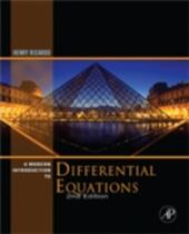 Modern Introduction to Differential Equations