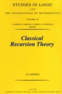 Foto Cover di Classical Recursion Theory, Ebook inglese di P. Odifreddi, edito da Elsevier Science