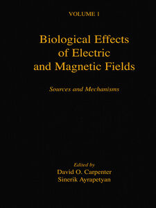 Ebook in inglese Biological Effects of Electric and Magnetic Fields -, -