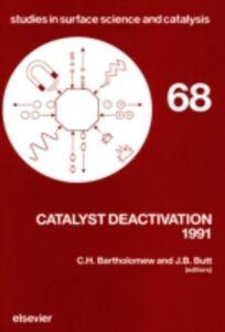Foto Cover di Catalyst Deactivation 1991, Ebook inglese di  edito da Elsevier Science