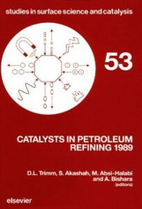Ebook in inglese Catalysts in Petroleum Refining 1989