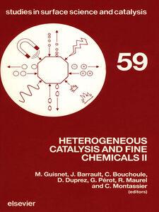 Ebook in inglese Heterogeneous Catalysis and Fine Chemicals II -, -