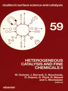 Ebook in inglese Heterogeneous Catalysis and Fine Chemicals II