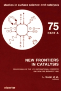 Ebook in inglese New Frontiers in Catalysis, Parts A-C -, -
