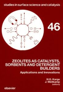 Ebook in inglese Zeolites as Catalysts, Sorbents and Detergent Builders