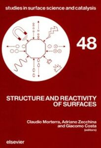 Foto Cover di Structure and Reactivity of Surfaces, Ebook inglese di  edito da Elsevier Science