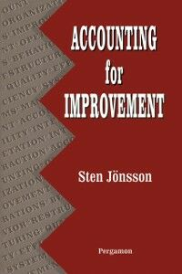 Ebook in inglese Accounting for Improvement Jonsson, Sten