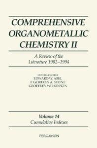 Foto Cover di Comprehensive Organometallic Chemistry II: A Review of the Literature 1982-1994, Ebook inglese di  edito da Elsevier Science