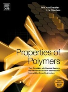 Ebook in inglese Properties of Polymers Krevelen, D.W. van , Nijenhuis, Klaas te