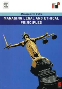 Ebook in inglese Managing Legal and Ethical Principles Revised Edition Elear, learn