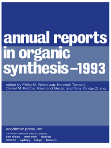 Ebook in inglese Annual Reports in Organic Synthesis 1993 -, -