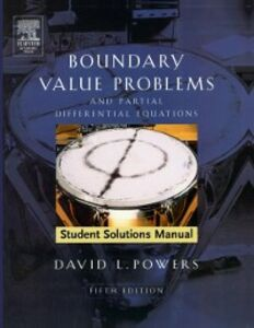 Foto Cover di Student Solutions Manual to Boundary Value Problems, Ebook inglese di David L. Powers, edito da Elsevier Science