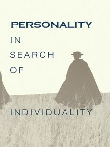 Ebook in inglese Personality in Search of Individuality Brody, Nathan