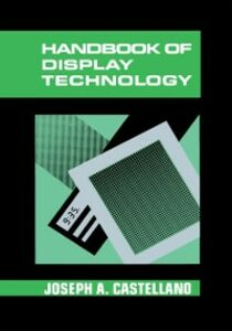 Ebook in inglese Handbook of Display Technology -, -