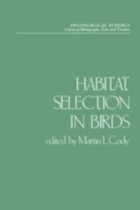 Ebook in inglese Habitat Selection in Birds -, -