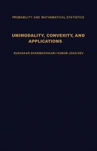 Ebook in inglese Unimodality, Convexity, and Applications -, -