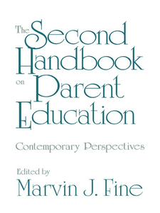Ebook in inglese The Second Handbook on Parent Education Fine, Marvin J.