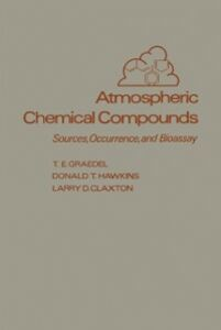 Foto Cover di Atmospheric Chemical Compounds, Ebook inglese di AA.VV edito da Elsevier Science