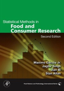 Ebook in inglese Statistical Methods in Food and Consumer Research Altan, Stan , Bi, Jian , Maximo C. Gacula, Jr. , Singh, Jagbir