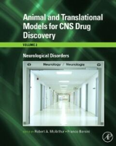Foto Cover di Animal and Translational Models for CNS Drug Discovery: Neurological Disorders, Ebook inglese di  edito da Elsevier Science