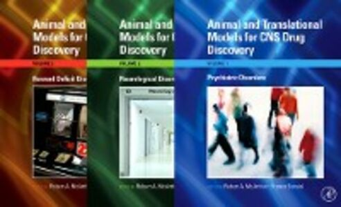 Ebook in inglese Animal and Translational Models for CNS Drug Discovery -, -