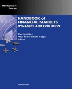 Foto Cover di Handbook of Financial Markets: Dynamics and Evolution, Ebook inglese di  edito da Elsevier Science