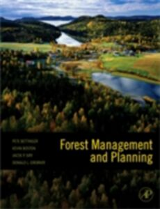 Ebook in inglese Forest Management and Planning Bettinger, Pete , Bettinger, Peter , Boston, Kevin , Grebner, Donald L.